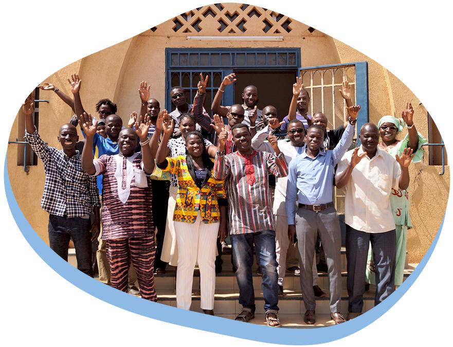 Photograph of Our Burkinabé Team